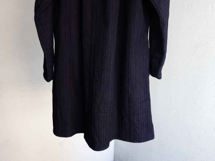 8月の製作 / classic farmers indigo coat_e0130546_16112788.jpg