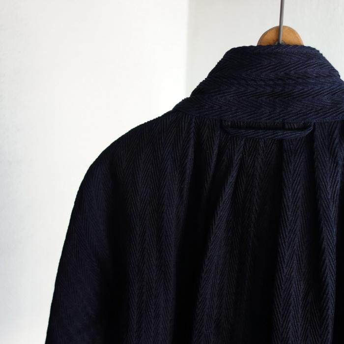 8月の製作 / classic farmers indigo coat_e0130546_16114342.jpg