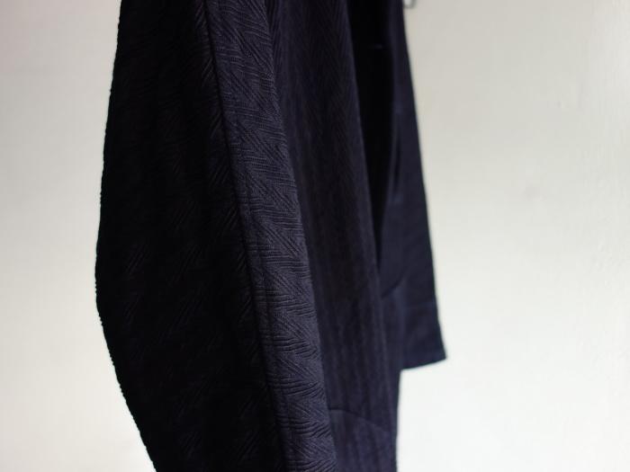 8月の製作 / classic farmers indigo coat_e0130546_16122247.jpg