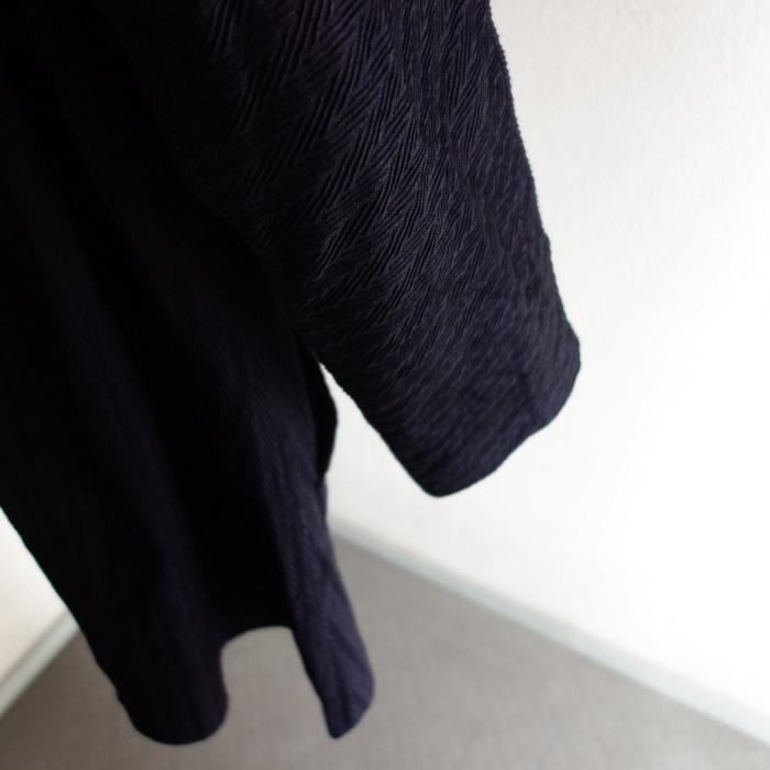 8月の製作 / classic farmers indigo coat_e0130546_16131300.jpg
