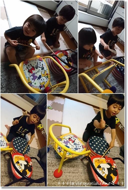 リッチなクリーム色に仕上がったミルクバターロールと3歳児王子の時系列_a0348473_05582899.jpg