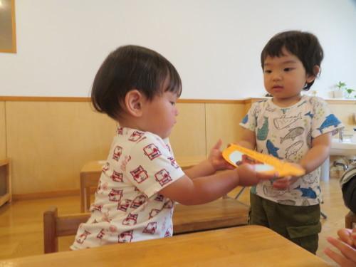 乳児 4月、6月生まれの誕生会_f0327175_16503264.jpg