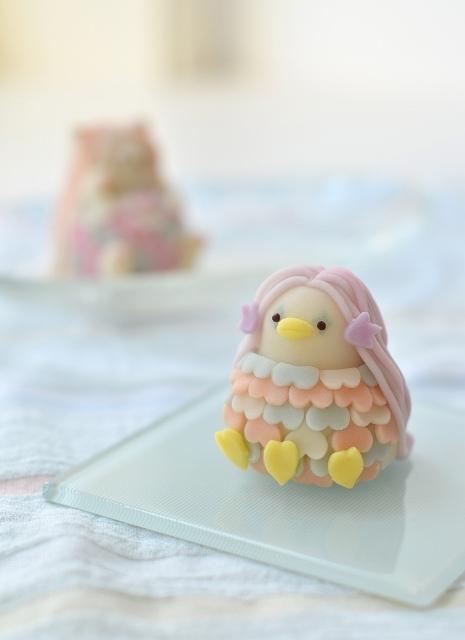 和菓子の日に、アマビエ & ネコビエ練り切り_d0025294_18452062.jpg