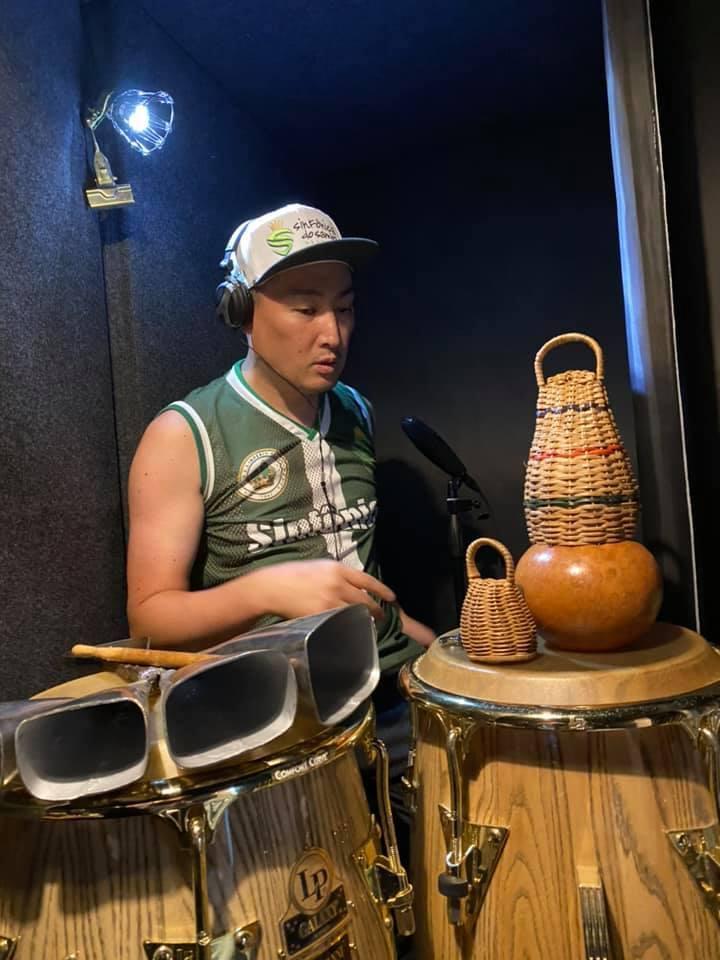 ♬【 #Recording 仕事】 #レコーディング #実績 #ブラジル 本場仕込活動24年目の #打楽器奏者 #percussion #percussionist  #打楽器_b0032617_17142382.jpg