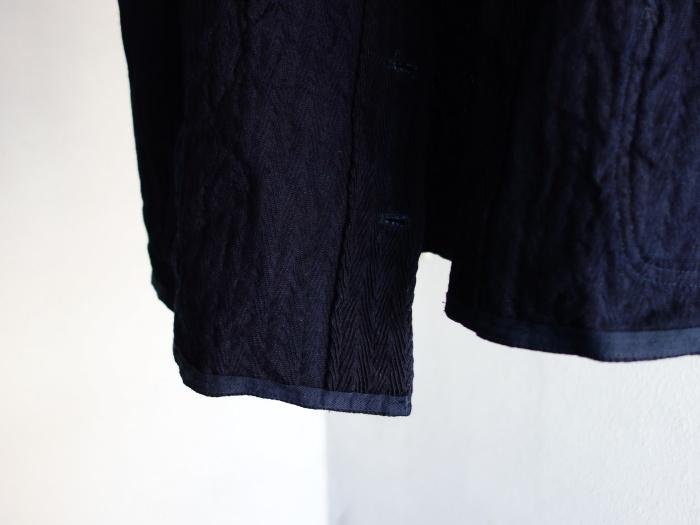 8月の製作 / DA frenchwork indigo vest_e0130546_17080795.jpg