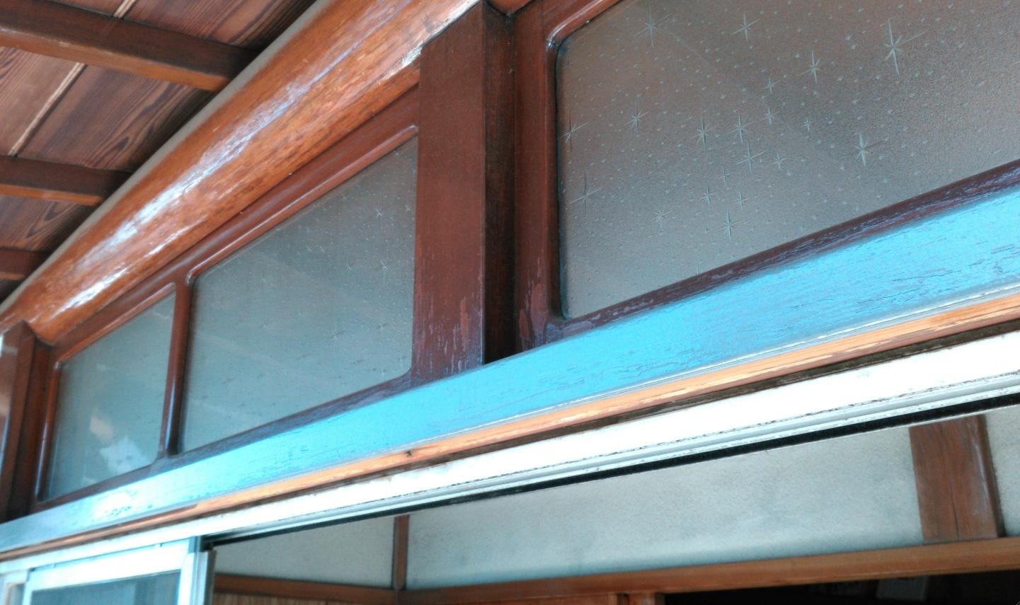 『サッシ交換』工事と台風対策としての『強化ガラス取付』工事 モリス正規販売店のブライト_c0157866_18135469.jpg