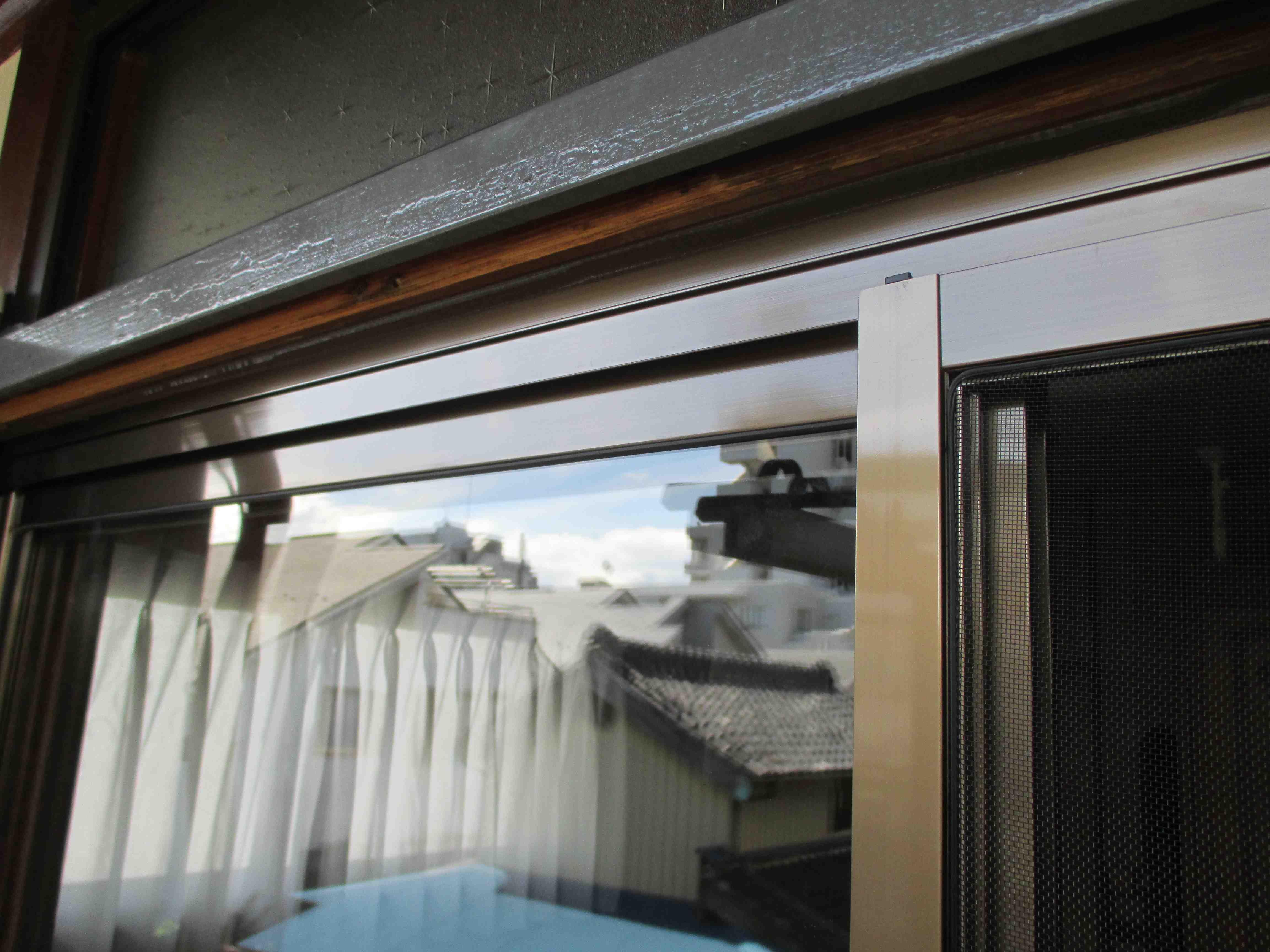 『サッシ交換』工事と台風対策としての『強化ガラス取付』工事 モリス正規販売店のブライト_c0157866_18263012.jpg