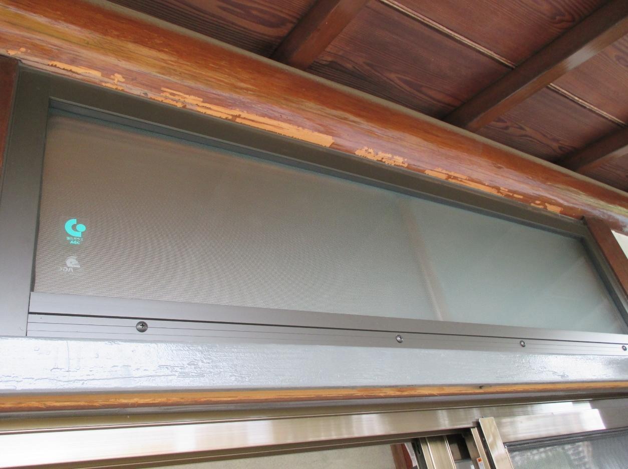 『サッシ交換』工事と台風対策としての『強化ガラス取付』工事 モリス正規販売店のブライト_c0157866_18340800.jpg