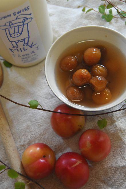 吉田牧場さんの牛乳と 南仏のさくらんぼうのクラフティ_b0346275_05231845.jpg