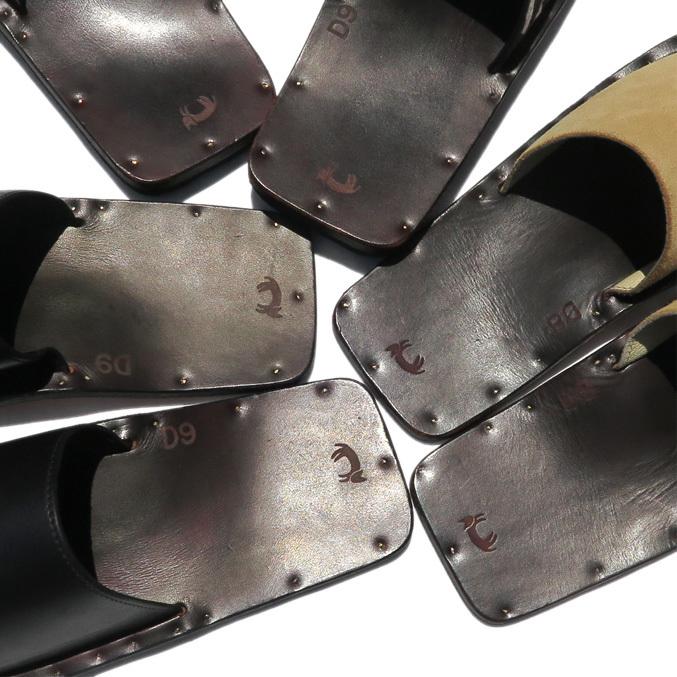 """JUTTA NEUMANN \""""SAM\"""" Leather Sandals._d0187983_14103980.jpg"""