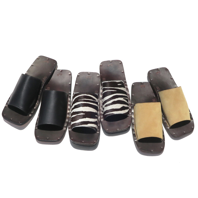 """JUTTA NEUMANN \""""SAM\"""" Leather Sandals._d0187983_14104336.jpg"""