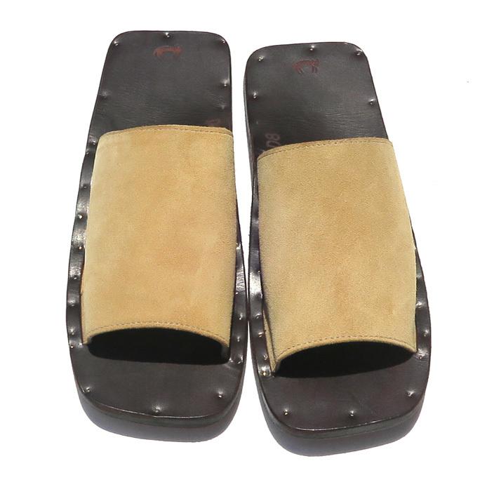 """JUTTA NEUMANN \""""SAM\"""" Leather Sandals._d0187983_14104920.jpg"""