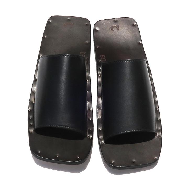 """JUTTA NEUMANN \""""SAM\"""" Leather Sandals._d0187983_14112948.jpg"""