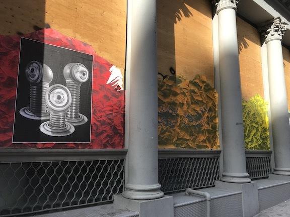 アートで蘇るNYの街角!さすがアレキサンダーワンはオシャレだった!_c0050387_15400189.jpeg
