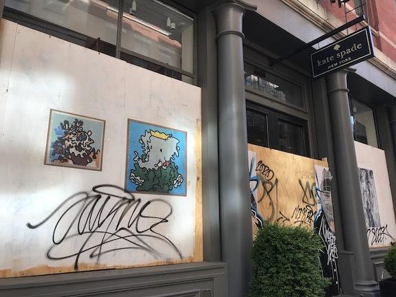 アートで蘇るNYの街角!さすがアレキサンダーワンはオシャレだった!_c0050387_15411486.jpeg