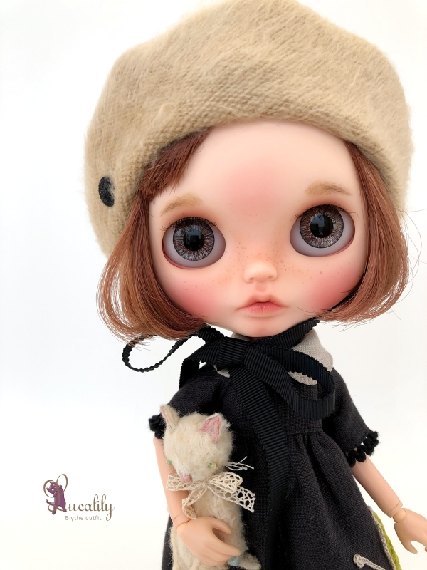 *lucalily * dolls clothes* Butterfly dress set *_d0217189_17065223.jpg
