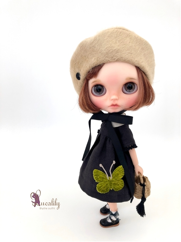 *lucalily * dolls clothes* Butterfly dress set *_d0217189_17065612.jpg