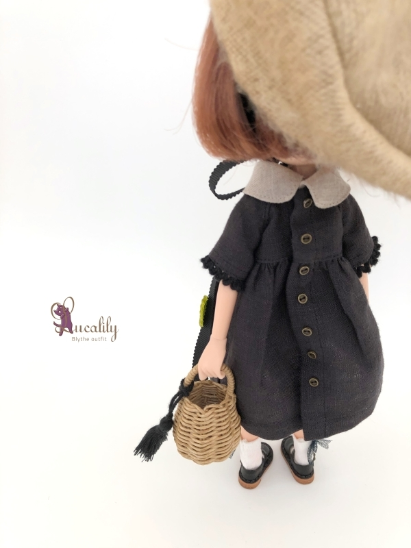 *lucalily * dolls clothes* Butterfly dress set *_d0217189_17065983.jpg