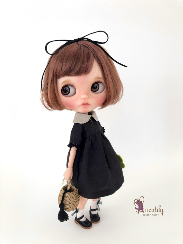 *lucalily * dolls clothes* Butterfly dress set *_d0217189_17070385.jpg