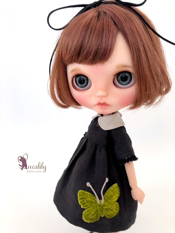 *lucalily * dolls clothes* Butterfly dress set *_d0217189_17074890.jpg