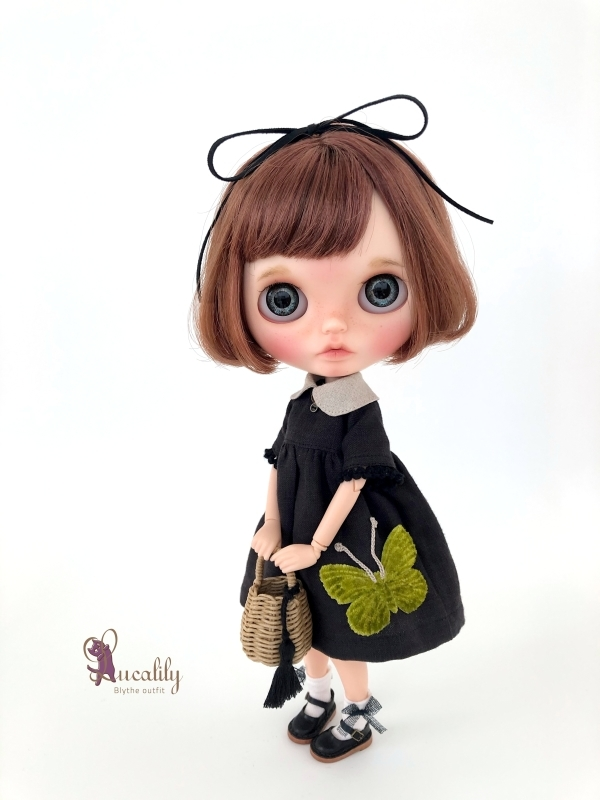 *lucalily * dolls clothes* Butterfly dress set *_d0217189_17075081.jpg