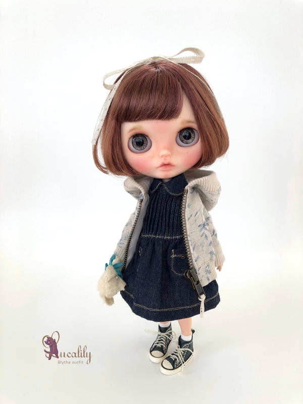 * lucalily * dolls clothes * Botanical blouson set *_d0217189_17095650.jpg