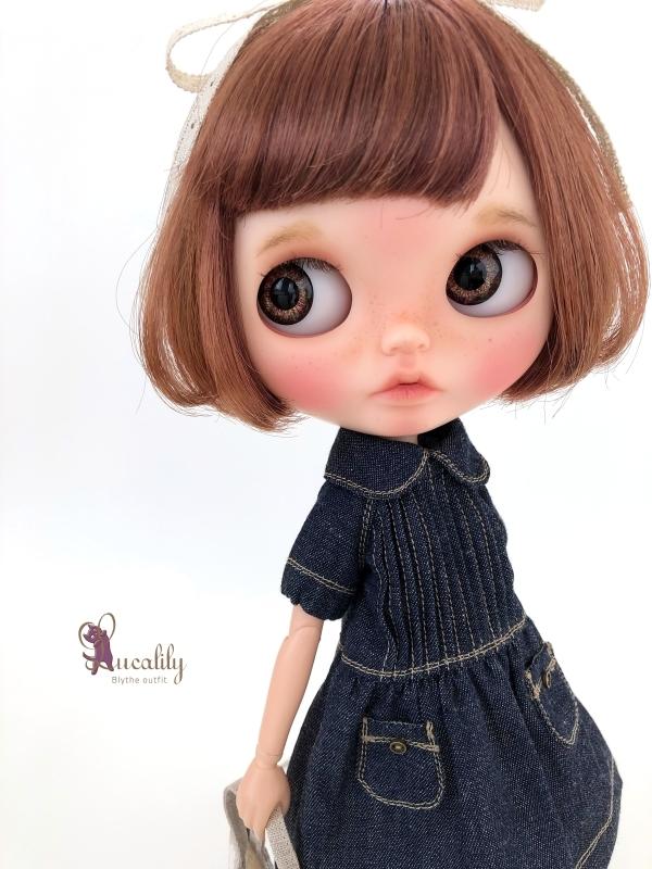 * lucalily * dolls clothes * Botanical blouson set *_d0217189_17102336.jpg