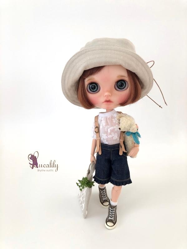 * lucalily * dolls clothes * Botanical blouson set *_d0217189_17102988.jpg