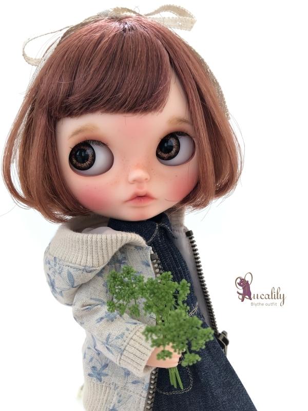 * lucalily * dolls clothes * Botanical blouson set *_d0217189_17111828.jpg