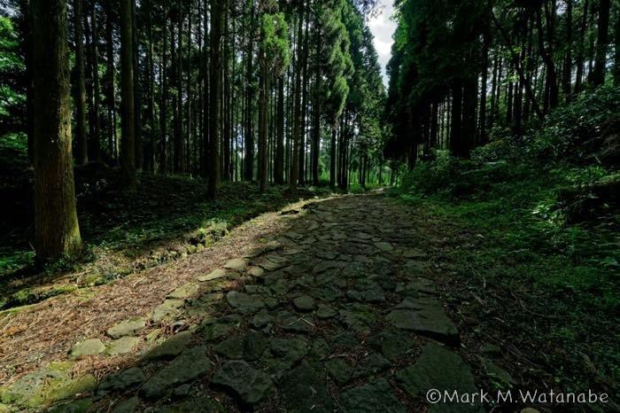 阿蘇参勤交代の石畳の道_e0135098_06431150.jpg