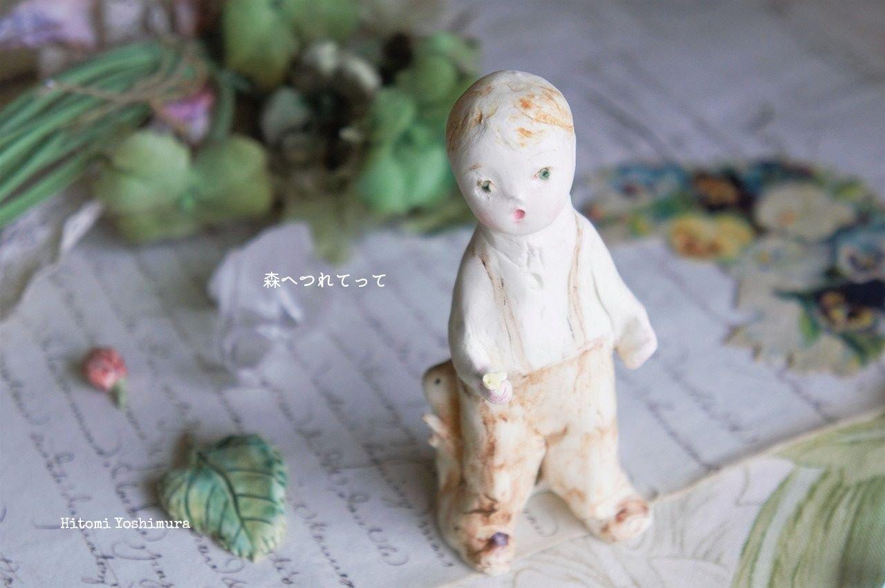 森へつれてって🌿 吉村眸さんの作品紹介 <オブジェ>_c0203401_19470542.jpeg