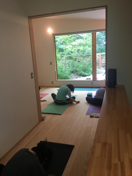 yogahouse239 森の家 スタートしました!_f0223253_14415769.jpg