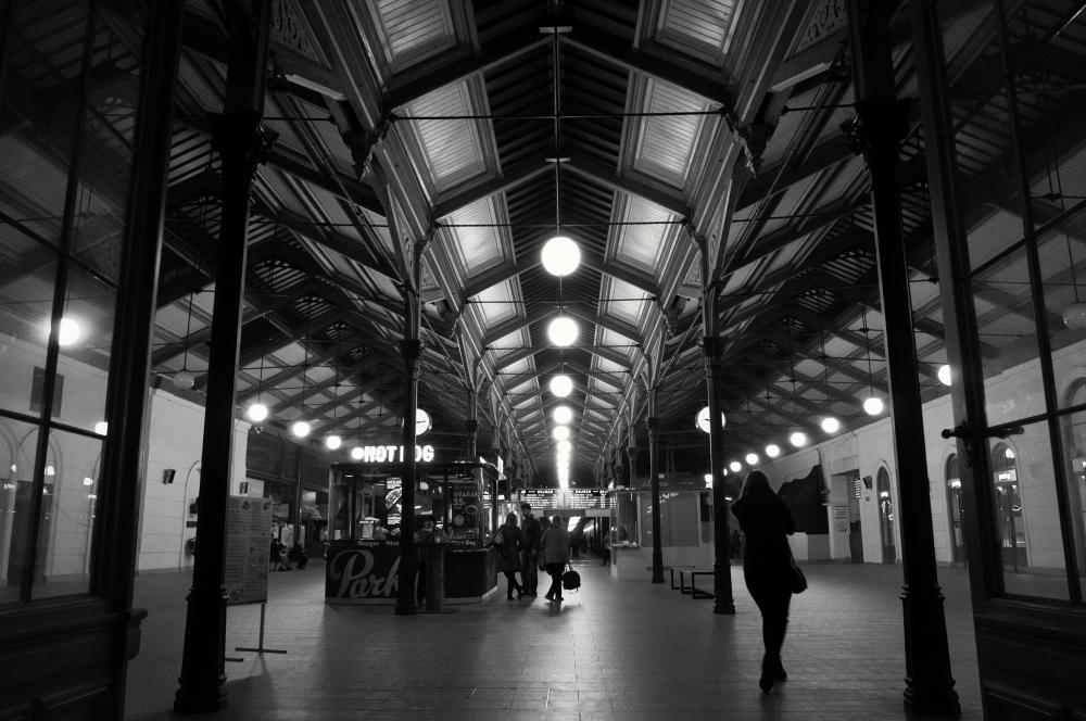 A moment in Prague #66 - 夜のマサリク駅 -_d0349265_14402706.jpg