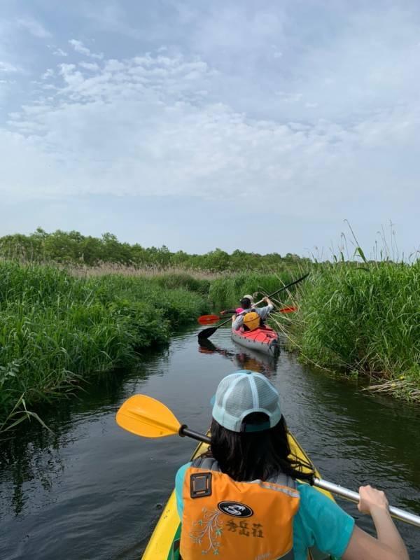 美々川をカヌーでのんびり下ってきました!_d0198793_11041290.jpg