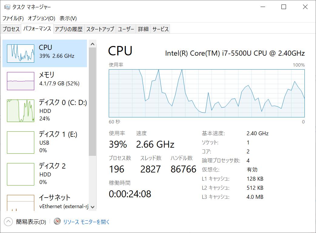 Windows10 1903 から 2004、ISOでアップデート_a0056607_16382096.png