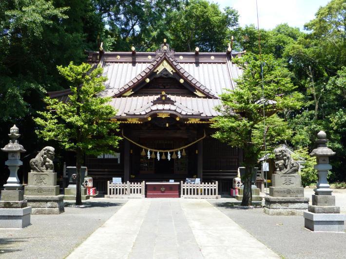 玉敷神社の紫陽花_f0296312_18410815.jpg