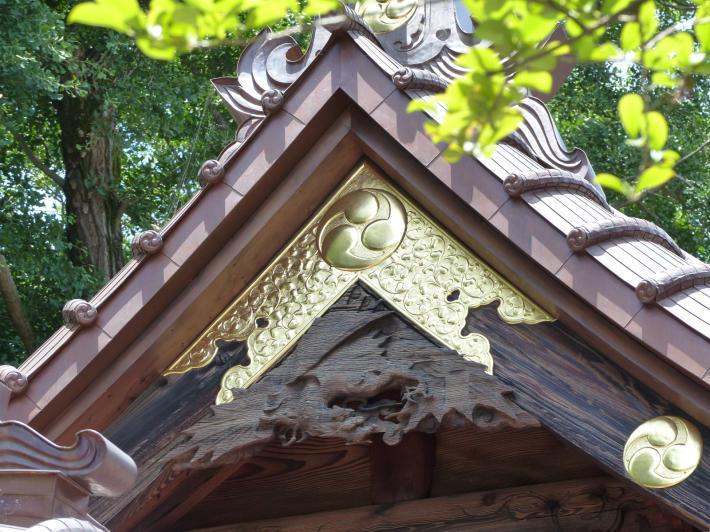玉敷神社の紫陽花_f0296312_18430830.jpg