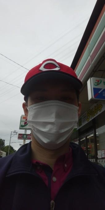本日もアベノマスクよりコンビニのマスクで出勤です!_e0094315_08153458.jpg