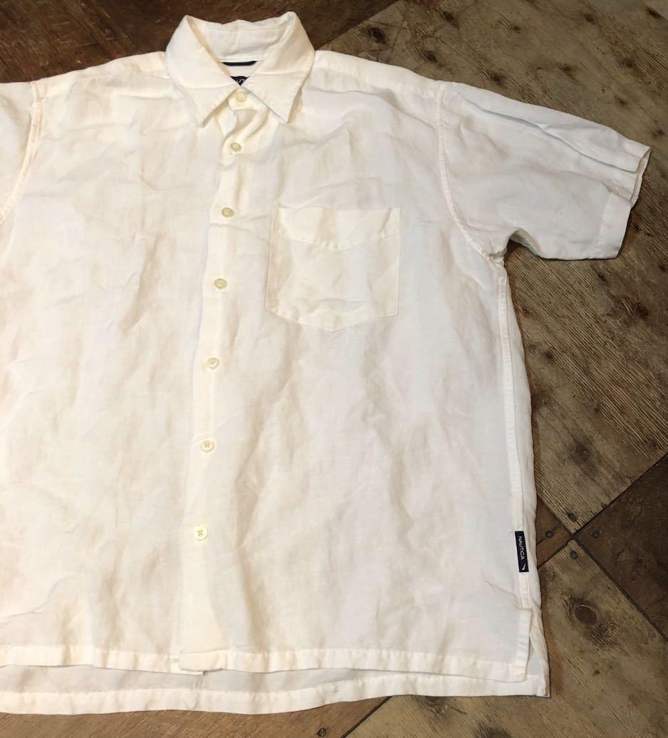 6月20日(土)入荷!NAUTICA  リネン×レーヨン ボックスシャツ!_c0144020_13262820.jpg