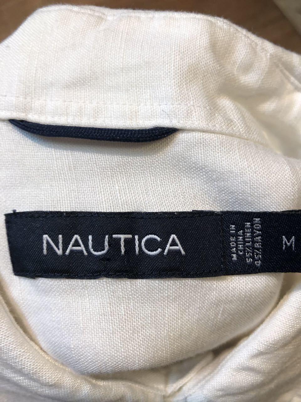 6月20日(土)入荷!NAUTICA  リネン×レーヨン ボックスシャツ!_c0144020_13263230.jpg
