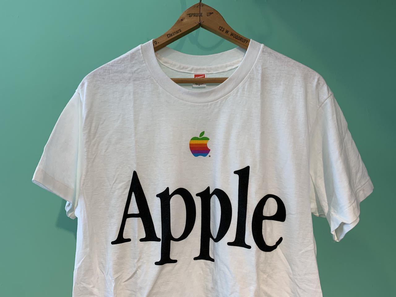 6月20日(土)入荷! 90s MADE IN U.S.A デッドストック APPLE computer Tシャツ !_c0144020_13390427.jpg
