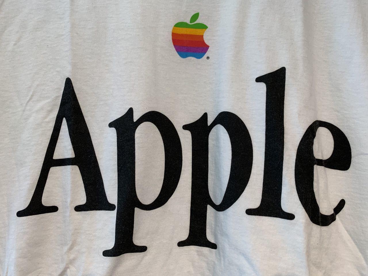 6月20日(土)入荷! 90s MADE IN U.S.A デッドストック APPLE computer Tシャツ !_c0144020_13390830.jpg