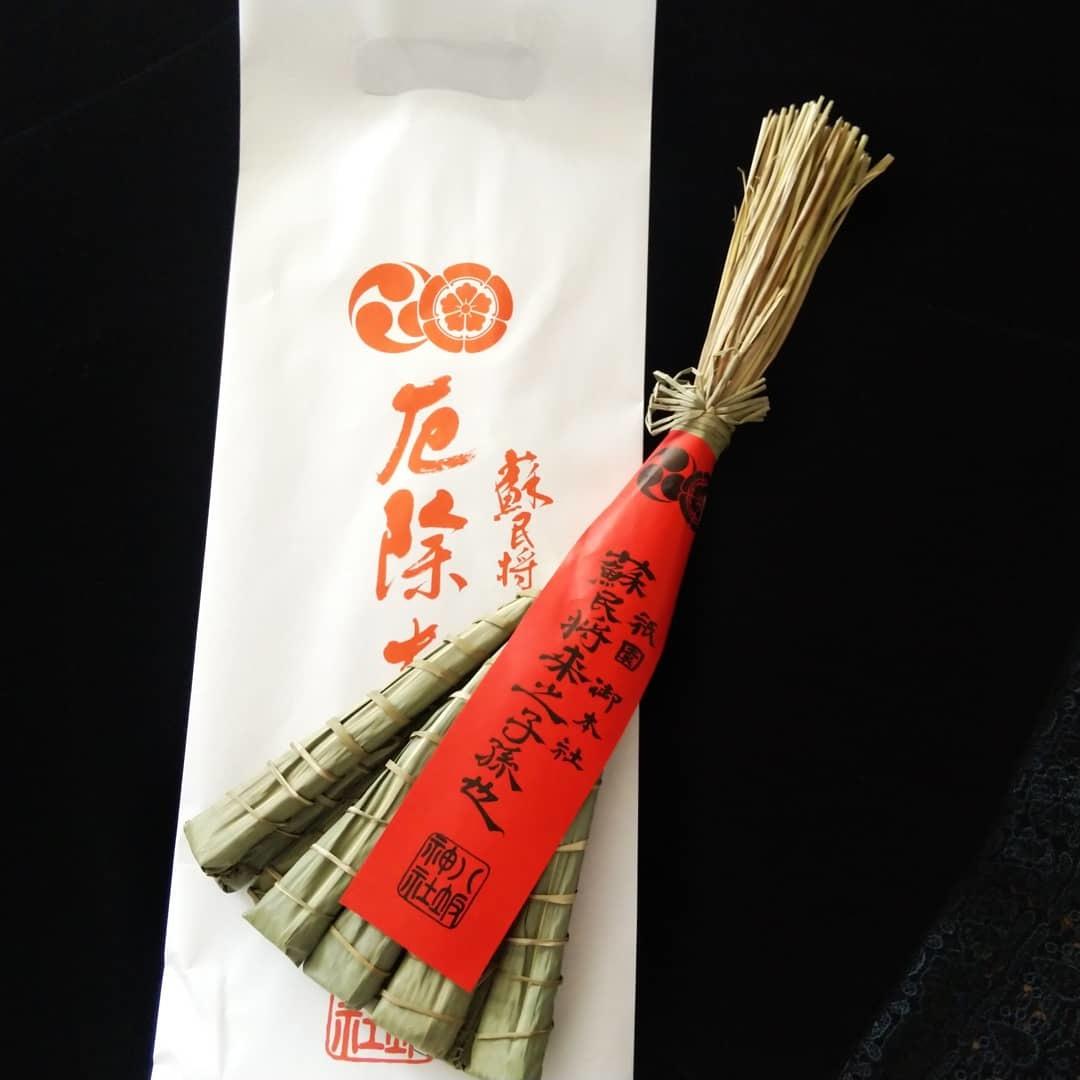 200619 京都・八坂神社「厄除けちまき」届きました✨_f0164842_15094473.jpg
