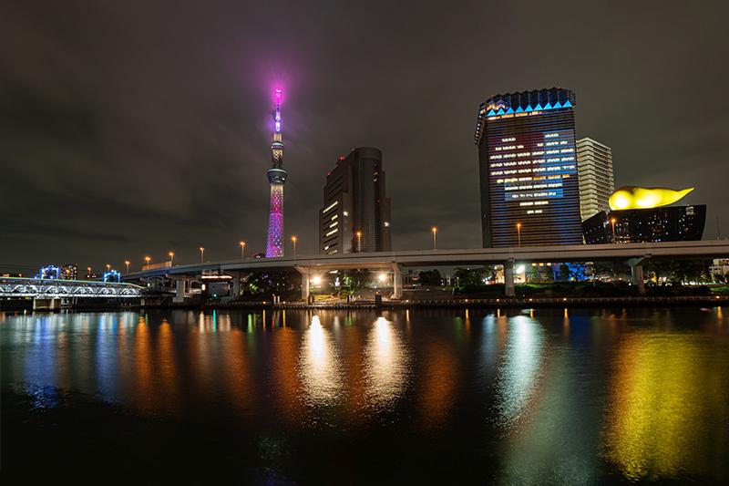 Hello from Tokyo 127 夜の隅田川_a0003650_22043844.jpg