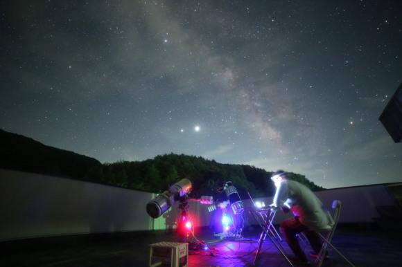夢中の星空の下で・・・_b0100253_23064056.jpg