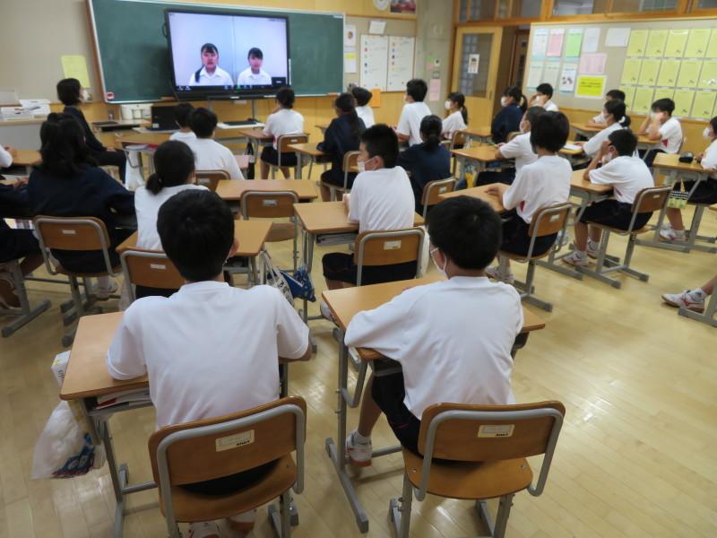 生徒会も動き出しました。_e0359282_16273582.jpg
