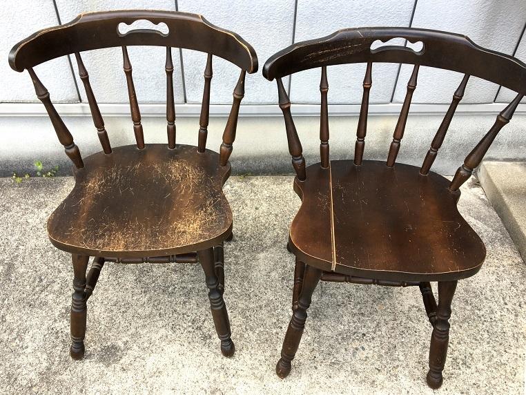 家具再生実例 木製椅子修理_d0224984_16142673.jpg