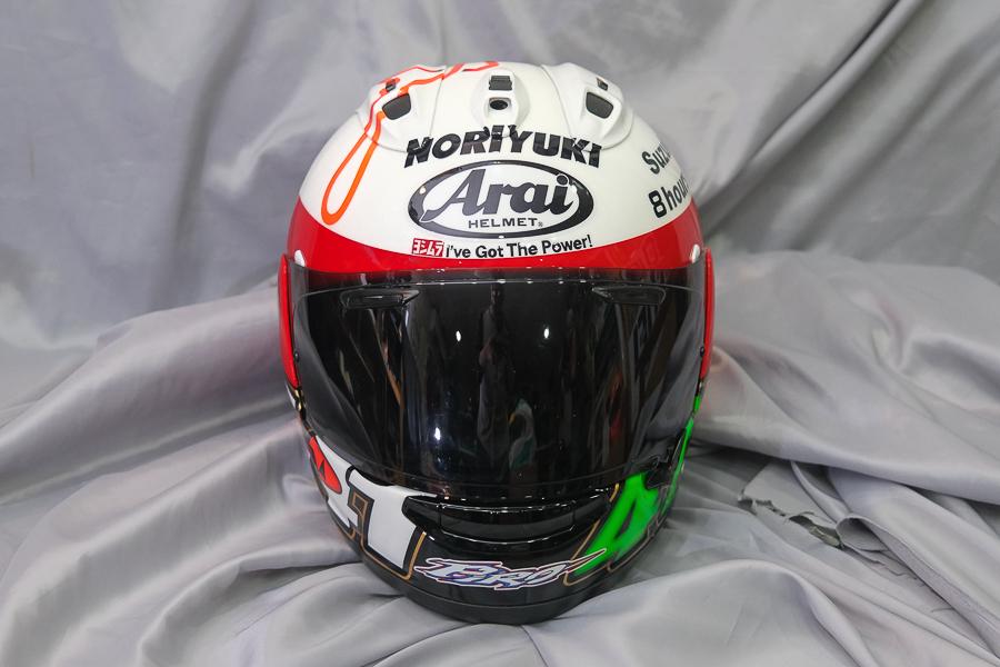 """Arai Helmet RX-7X \""""Haga \""""_f0369107_09421222.jpg"""