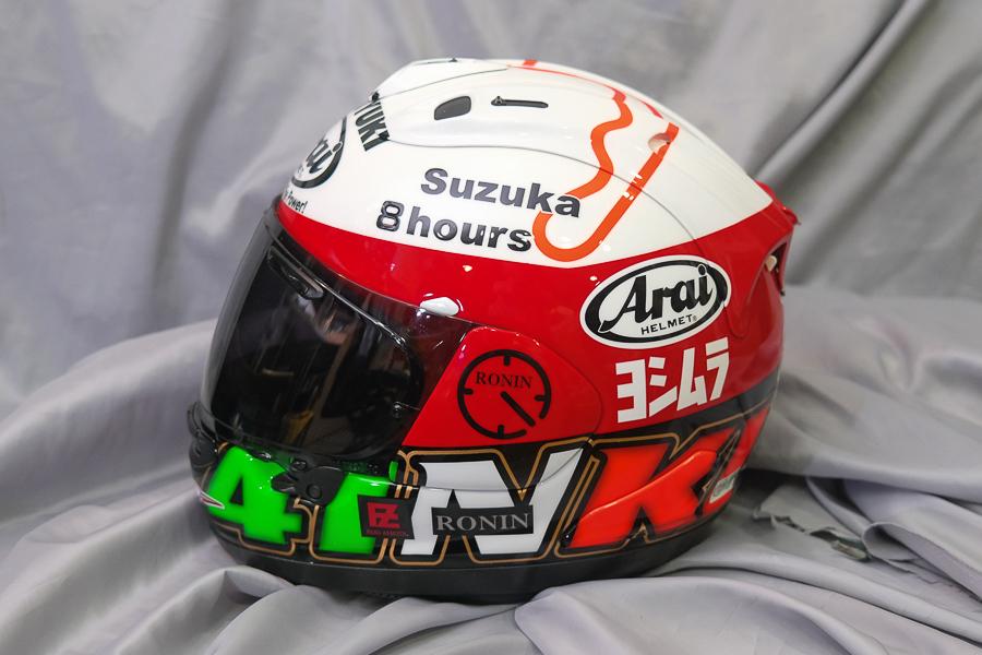 """Arai Helmet RX-7X \""""Haga \""""_f0369107_09422025.jpg"""