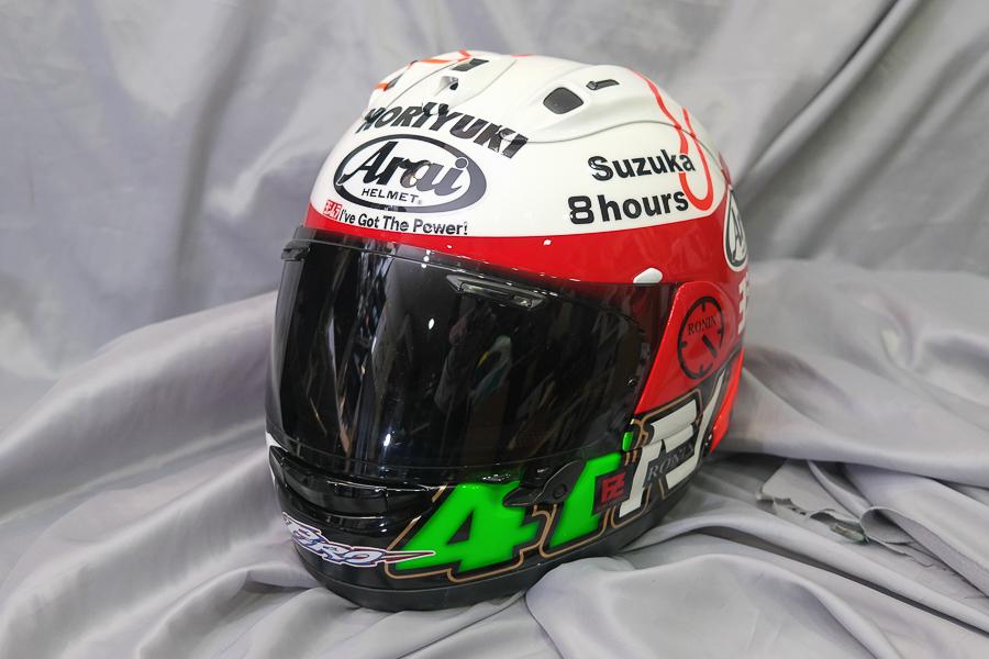 """Arai Helmet RX-7X \""""Haga \""""_f0369107_09422753.jpg"""